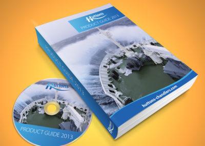 catalogue design Huttons ship supplies hull
