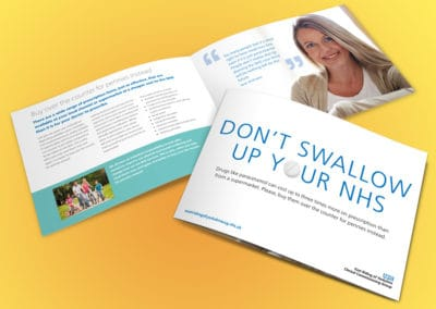 Don't swallow up your NHS campaign East Riding of Yorkshire Clinical Commissioning Group